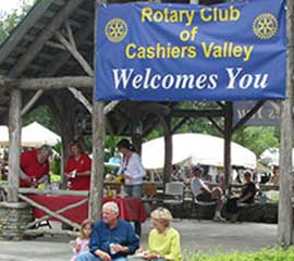 Cashiers Rotary Club Arts & Crafts Fair